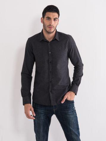 Klasična muška košulja siva