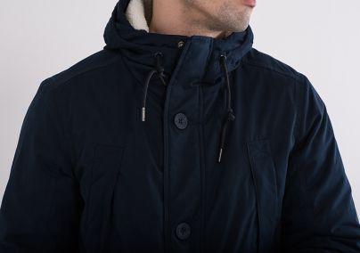 Muška zimska jakna teget