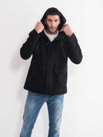 Muški kaput ravnog kroja