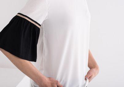 Bluza sa pufnastim rukavima