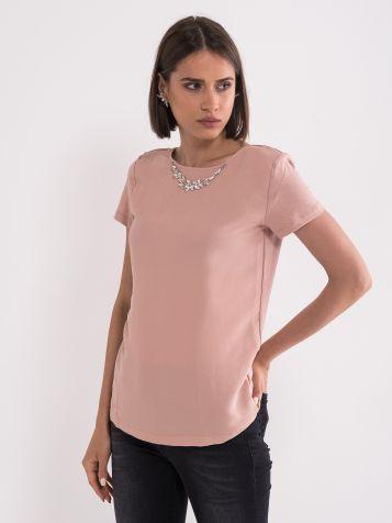 Bluza puder roza