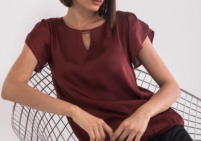 Bluza sa lepršavim rukavima