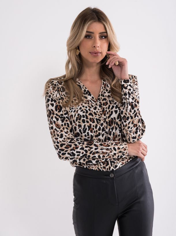 Bluza sa animal printom