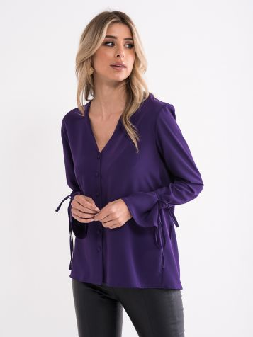 Vijolična bluza