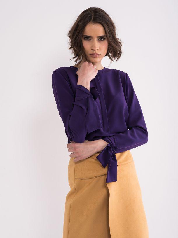 Ljubičasta bluza