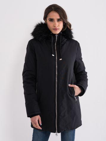 Ženska jakna s krznom