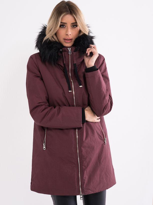 Ženska jakna sa krznom