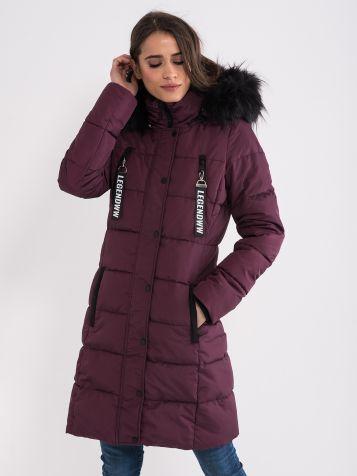 Bordo zimska jakna