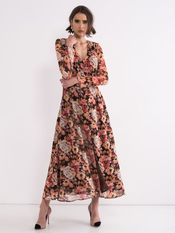 Trendi haljina floralnog printa