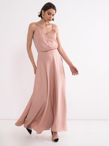 Dolga romantična obleka