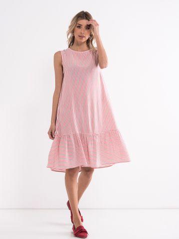 Ljetnja prugasta haljina