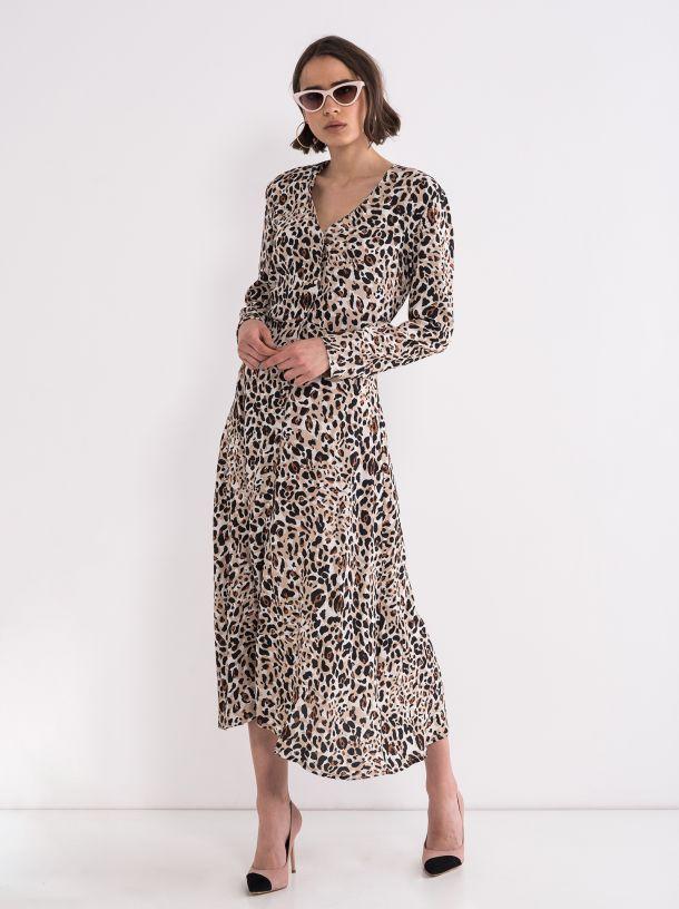 Haljina u leopard printu