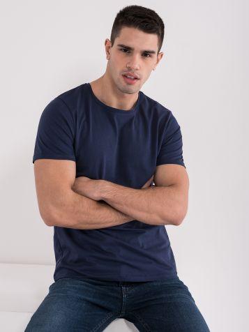 Basic majica modre barve
