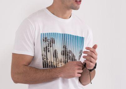Majica sa palmama