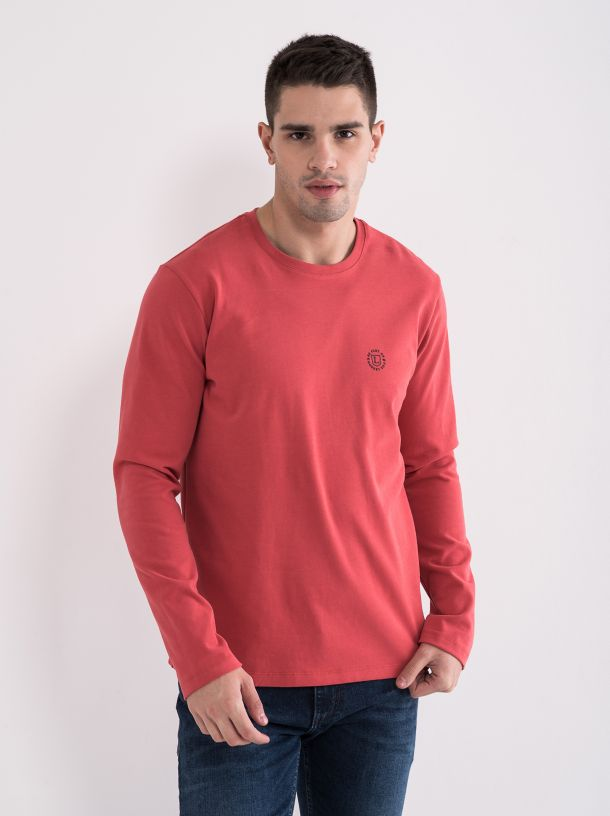 Majica dug rukav crvena