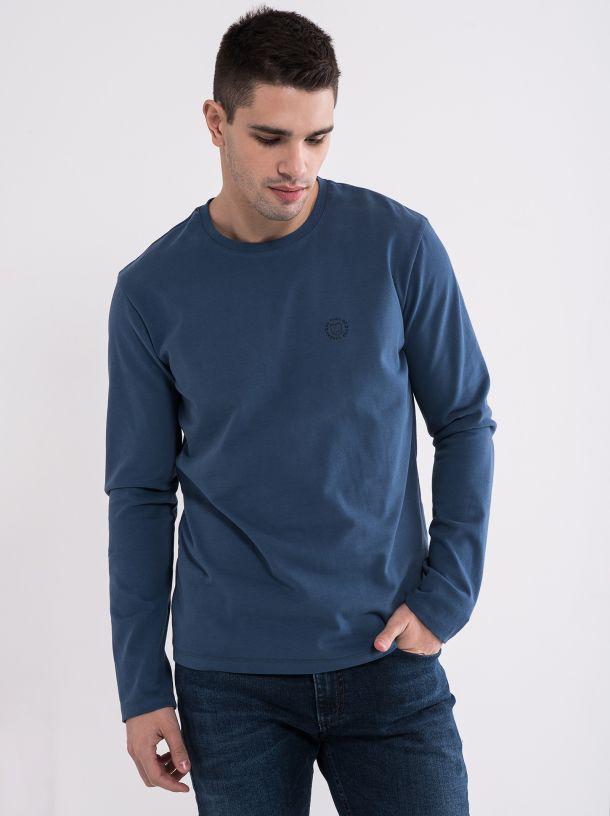 Majica dug rukav plava