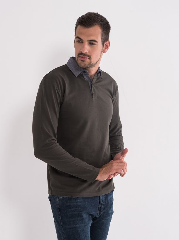 Polo majica dug rukav