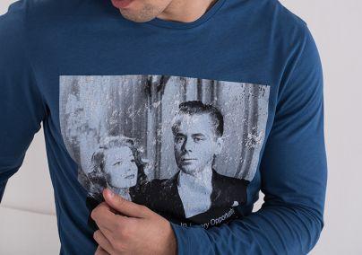 Majica sa štampom i porukom