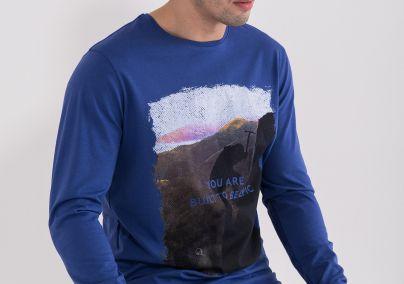 Muška majica sa porukom