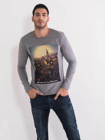 Majica sa printom grada