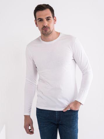 Osnovna majica z dolgimi rokavi