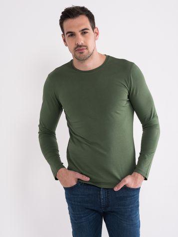 Oljčna »basic« majica