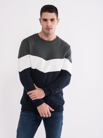 Moška pulover v treh barvah