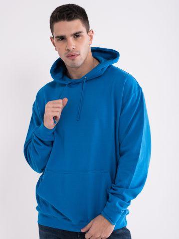 Moški kapucar modre barve