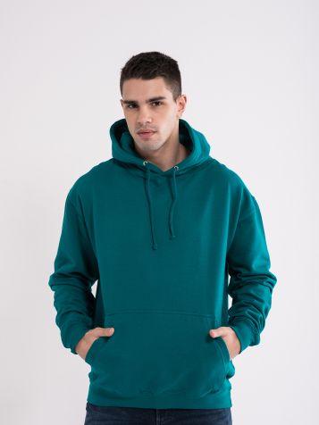 Moški kapucar zelene barve