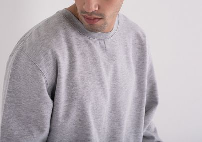 Muški basic duks sivi