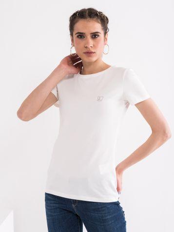 Basic majica bele barve