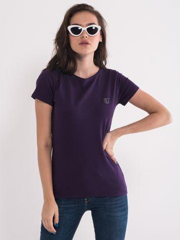 Basic majica vijolične barve