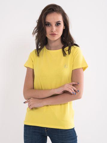 Basic majica rumene barve