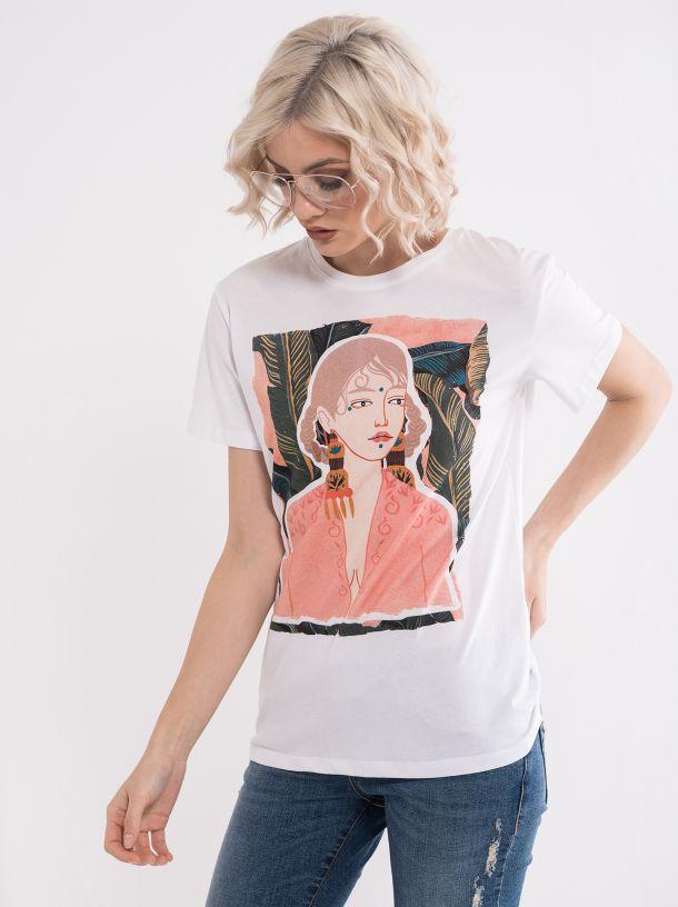 Majica sa trendi štampom