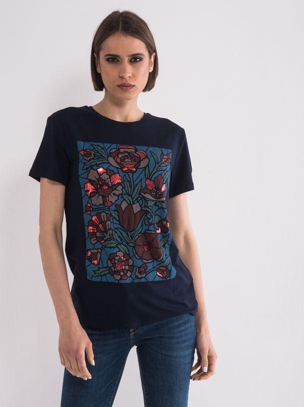 Majica sa cvetovima