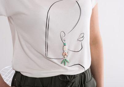Majica sa devojkom