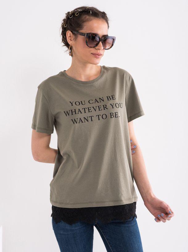 Majica sa čipkom