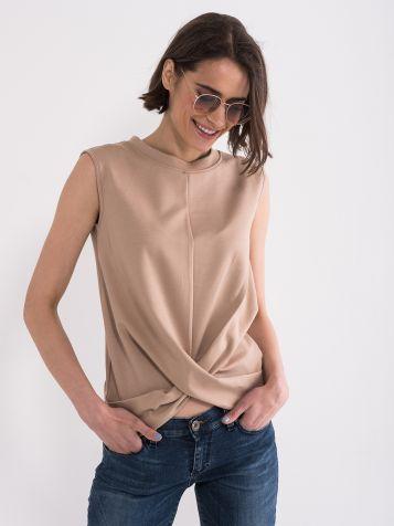 Majica sa širokim bretelama