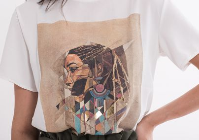 Majica sa geometrijskom štampom