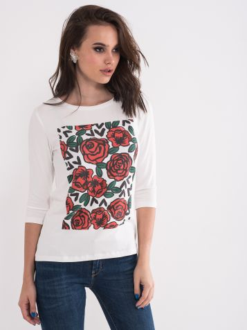 Majica sa ružama