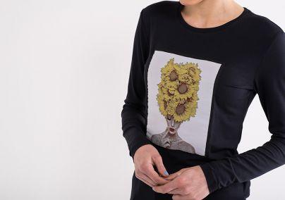 Majica sa suncokretima