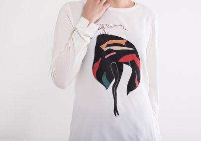 Ležerna ženska majica