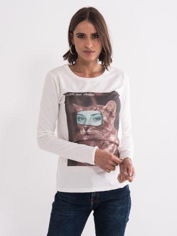 Majica sa zanimljivim printom