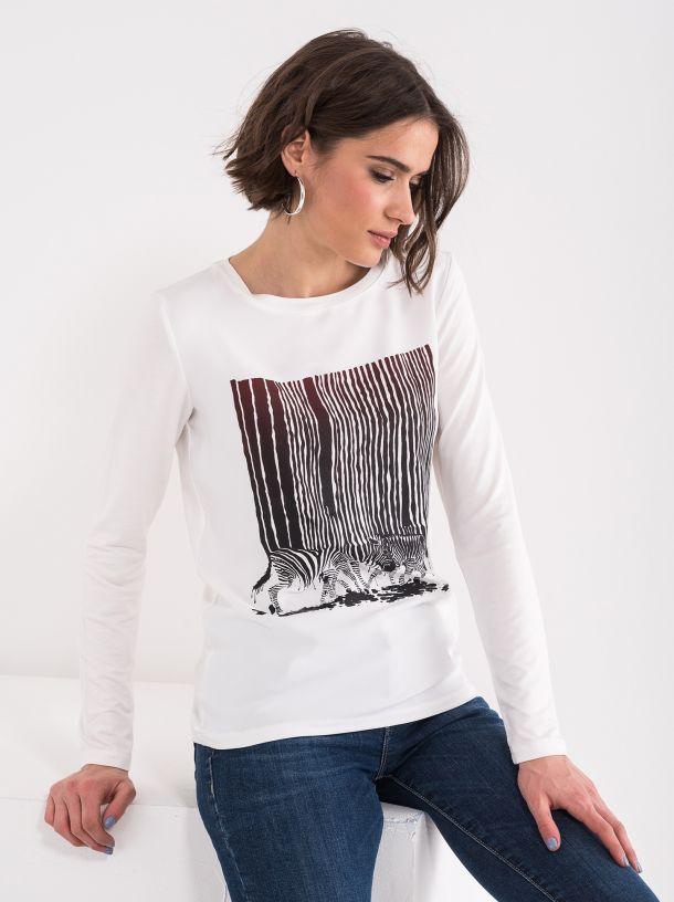 Majica sa zebra printom