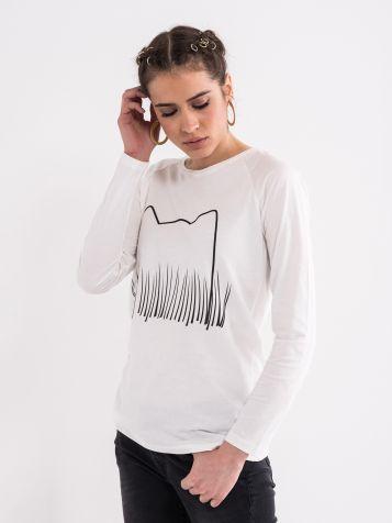Majica sa minimalističkim printom