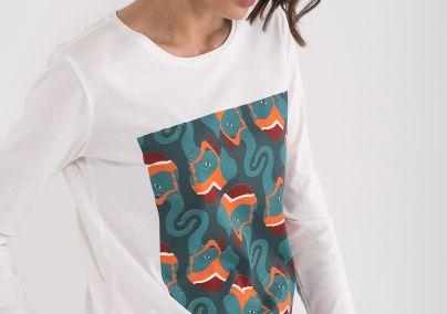 Majica sa interesantnom štampom