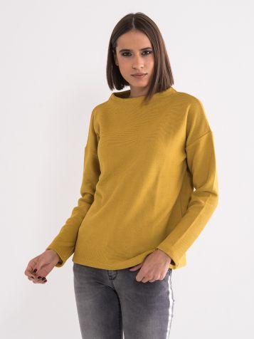 Majica u senf boji