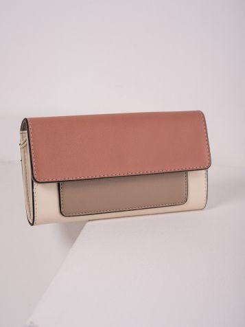 Ženska denarnica puder roza
