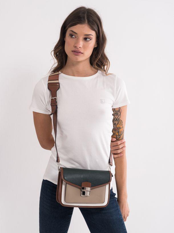 Ženska torba u zemljanim tonovima