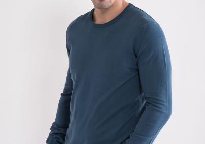 Basic džemper plavi